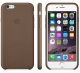 Apple Silicone Case for iPhone 6/6s - Dark Brown (Hi-Copy)