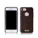 REMAX Maso Series Crocodile Leather Coated Hard Case for iPhone 7 Plus - Brown