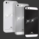 White Diamonds Materialized Metal Stream Black for iPhone 5