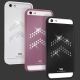 White Diamonds Materialized Metal Aviator White for iPhone 5