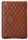 JISONCASE Quilted Leather Smart Case for iPad mini/mini 2 Brown (JS-IDM-02G20(002D))