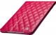 JISONCASE Quilted Leather Smart Case for iPad mini/mini 2 Rose (JS-IDM-02G33)