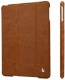 JISONCASE Vintage Leather Smart Case for iPad mini/mini 2 Brown (JS-IDM-01A20/JS-IM2-01A20)
