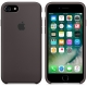 Apple Silicone Case for iPhone 7 - Cocoa (Hi-Copy)