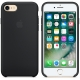 Apple Silicone Case for iPhone 7 - Black (Hi-Copy)