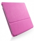 SGP Leather Case Stehen Series Sherbet Pink for iPad 2