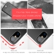 Baseus Armor Case TPU Back Cover for iPhone X - BLACK
